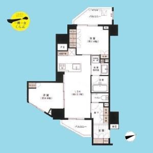 2LDK {building type} in Ikejiri - Setagaya-ku Floorplan