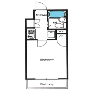 1K {building type} in Denenchofu honcho - Ota-ku Floorplan