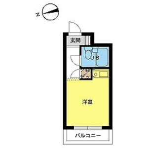 1R Mansion in Minamiogikubo - Suginami-ku Floorplan