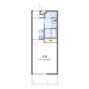 1K Mansion in Hiyagon - Okinawa-shi Floorplan
