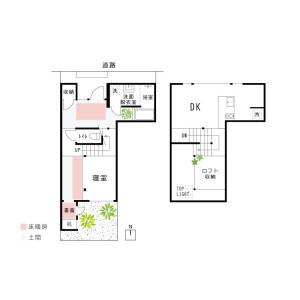 1DK House in Omiya minamibayashicho - Kyoto-shi Kita-ku Floorplan