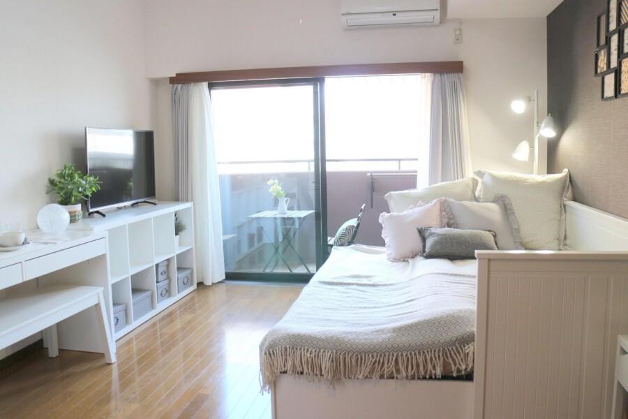 在Minato-ku內租賃1K 公寓 的房產 臥室