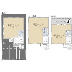 Whole Building {building type} in Baikoen - Fukuoka-shi Chuo-ku Floorplan