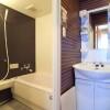 1LDK Apartment to Rent in Kobe-shi Chuo-ku Washroom