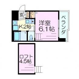 1K Mansion in Kikawahigashi - Osaka-shi Yodogawa-ku Floorplan