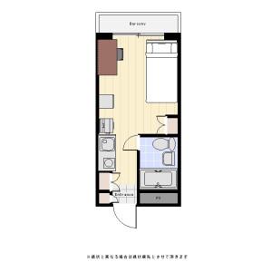 1R Mansion in Ikegami - Ota-ku Floorplan
