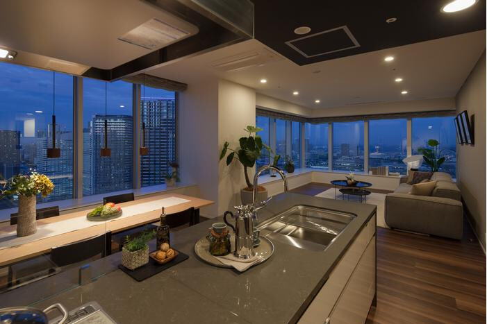 4LDK Apartment to Buy in Chuo-ku Kitchen