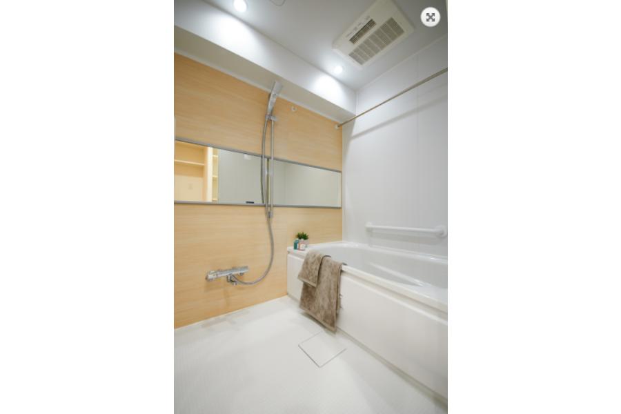 3LDK Apartment to Buy in Koto-ku Bathroom