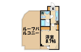 1K Mansion in Kitakarasuyama - Setagaya-ku