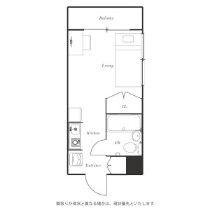 1R Mansion in Kamiochiai - Shinjuku-ku Floorplan