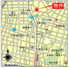 6LDK House to Rent in Taito-ku Map