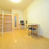 1K Apartment to Rent in Osaka-shi Higashiyodogawa-ku Living Room