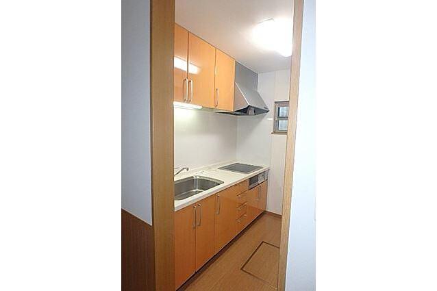 2LDK Terrace house to Rent in Nagoya-shi Higashi-ku Kitchen