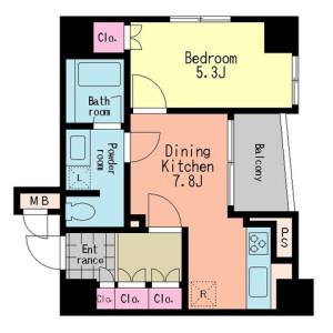 1DK Mansion in Sengoku - Bunkyo-ku Floorplan