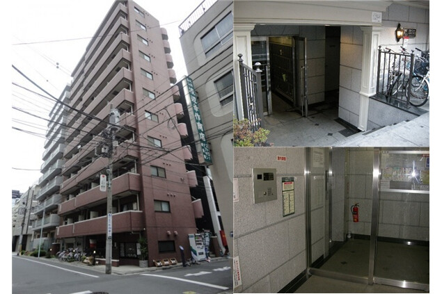 1K Apartment to Rent in Chuo-ku Exterior