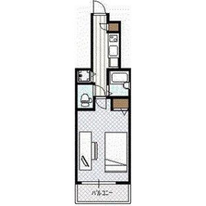 1K Apartment in Saga - Koto-ku Floorplan