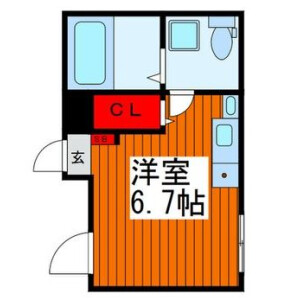 1R Mansion in Oji - Kita-ku Floorplan