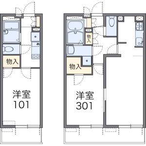 1K Mansion in Higashikojiya - Ota-ku Floorplan