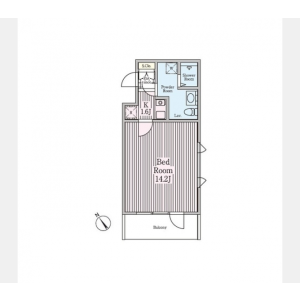 1R Mansion in Daikanyamacho - Shibuya-ku Floorplan