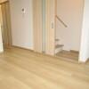 在大阪市東住吉区购买3LDK 独栋住宅的 起居室