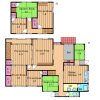 9DK House to Rent in Tondabayashi-shi Floorplan