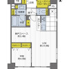 1SLDK Apartment to Buy in Osaka-shi Chuo-ku Floorplan