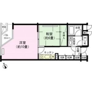 2K Mansion in Ishiuchi - Minamiuonuma-shi Floorplan