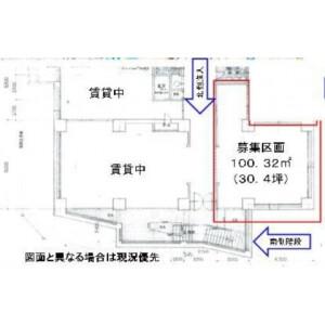 Restaurant Retail in Tsuruyacho - Yokohama-shi Kanagawa-ku Floorplan