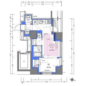 1LDK Mansion in Kandatacho - Chiyoda-ku Floorplan
