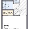 1K Apartment to Rent in Nishinomiya-shi Interior