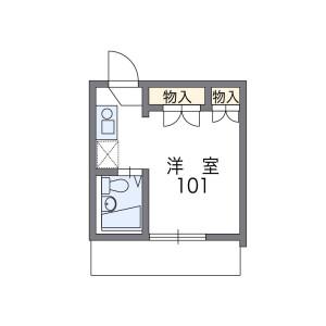 1K Mansion in Kitakoiwa - Edogawa-ku Floorplan
