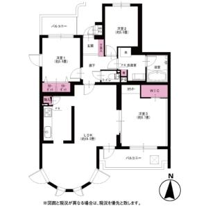 3LDK {building type} in Kamikizaki - Saitama-shi Urawa-ku Floorplan