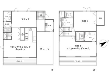 2LDK Hotel/Ryokan to Buy in Abuta-gun Kutchan-cho Floorplan