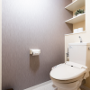 1DK Apartment to Rent in Kyoto-shi Nakagyo-ku Toilet