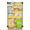 3LDK Apartment to Rent in Yao-shi Floorplan