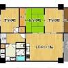 3LDK Apartment to Buy in Osaka-shi Nishi-ku Interior