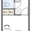 在川越市内租赁1K 公寓 的 楼层布局