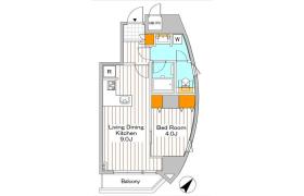 港区六本木-1LDK公寓大厦