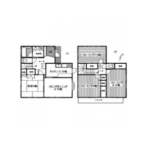 4LDK House in Hairando - Yokosuka-shi Floorplan