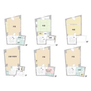 Whole Building {building type} in Negishi - Taito-ku Floorplan