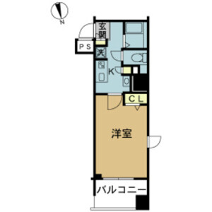 1K Mansion in Kaminarimon - Taito-ku Floorplan