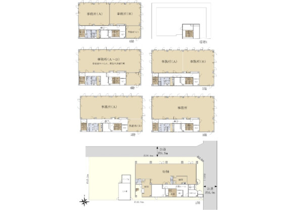 Whole Building Office to Buy in Mito-shi Floorplan