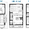 在江东区购买3LDK 独栋住宅的 楼层布局