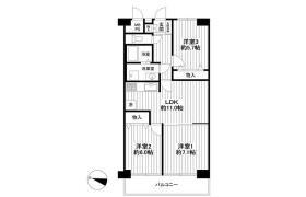 3LDK Apartment in Yanagishimacho - Soka-shi