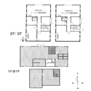 Whole Building Office in Komazawa - Setagaya-ku Floorplan