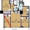 2LDK Apartment to Rent in Kawaguchi-shi Floorplan