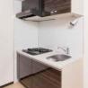 在港区内租赁1K 公寓大厦 的 厨房