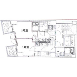 1K Mansion in Nishihara - Shibuya-ku Floorplan