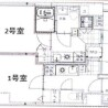 在澀谷區內租賃1K 公寓大廈 的房產 房間格局