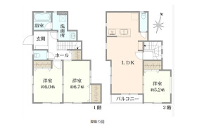 横浜市磯子区森-3LDK{building type}